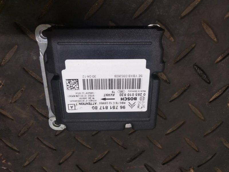 Блок srs Peugeot 3008 EP6CDTMD 2012 (б/у)