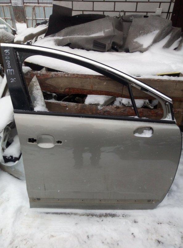 Дверь Peugeot 3008 EP6CDTMD 2012 передняя правая (б/у)