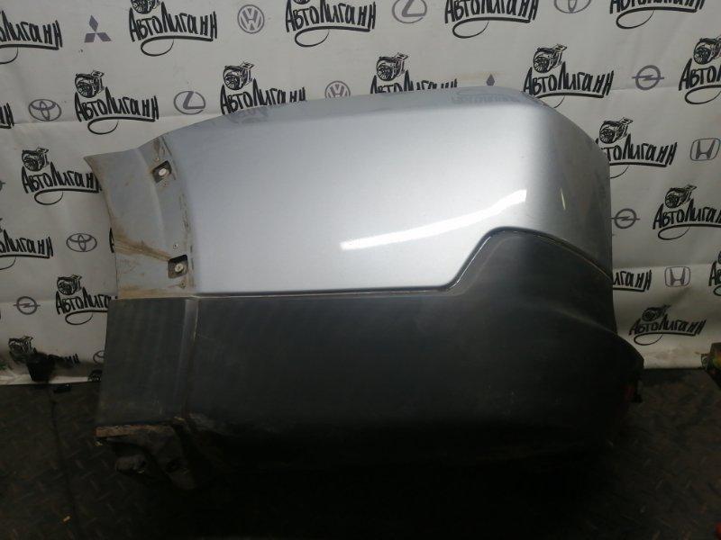 Клык заднего бампера Mitsubishi Pajero 4 6G75 2007 задний левый (б/у)