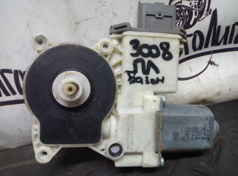 Мотор стеклоподъемника Peugeot 3008 EP6CDTMD 2012 передний левый (б/у)