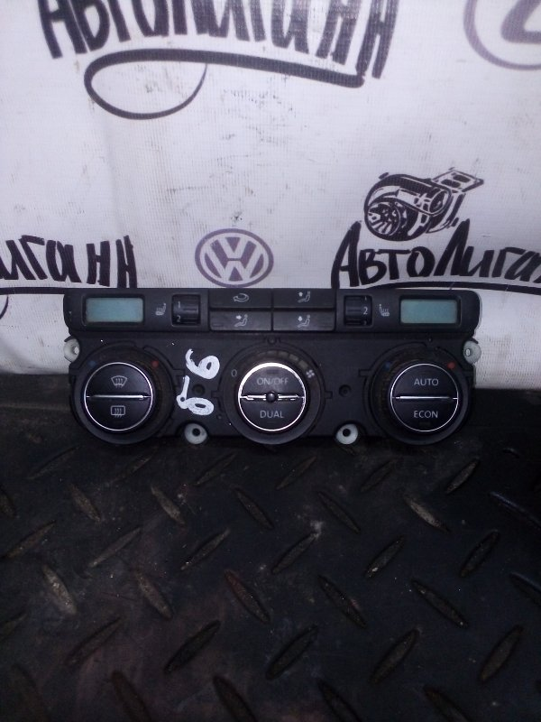 Блок управления климат-контролем Volkswagen Passat B6 (б/у)