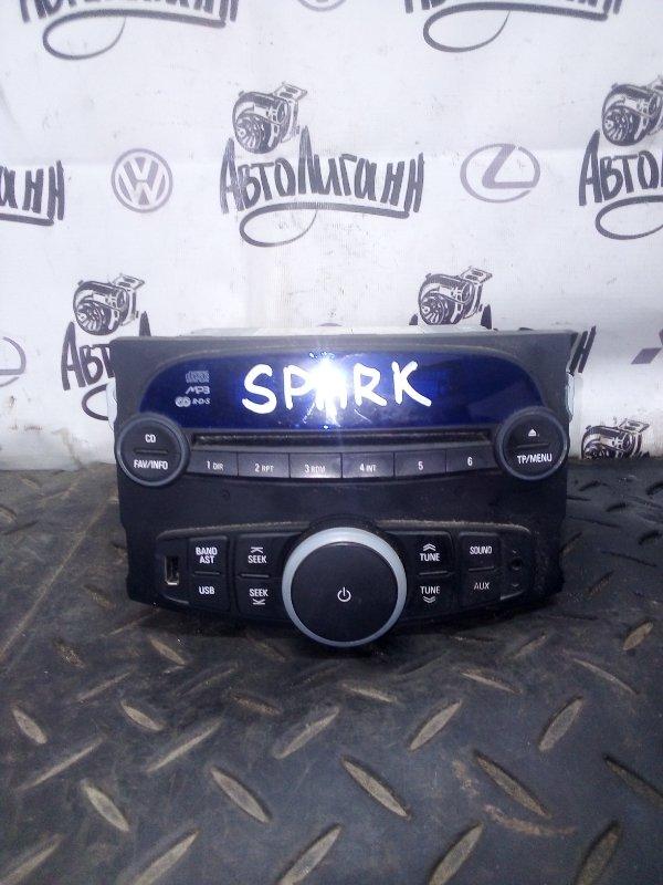 Магнитола Chevrolet Spark M300 2013 (б/у)