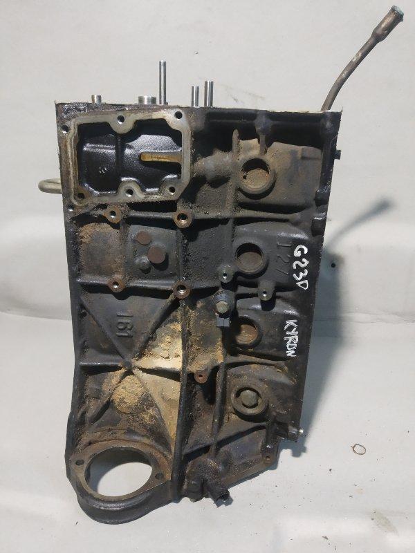 Блок цилиндров Ssang Yong Kyron G23D 2.3 (б/у)