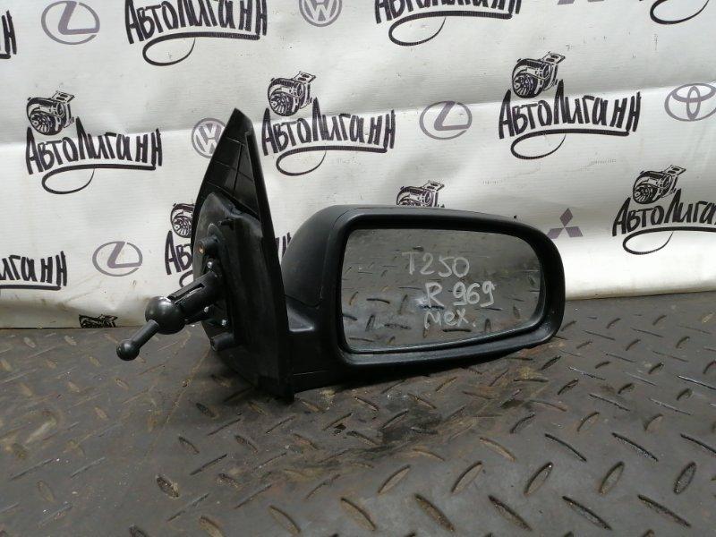 Зеркало Chevrolet Aveo T 250 F14D4 2011 переднее правое (б/у)