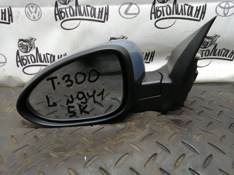 Зеркало Chevrolet Aveo T300 СЕДАН F16D4 2013 переднее левое (б/у)
