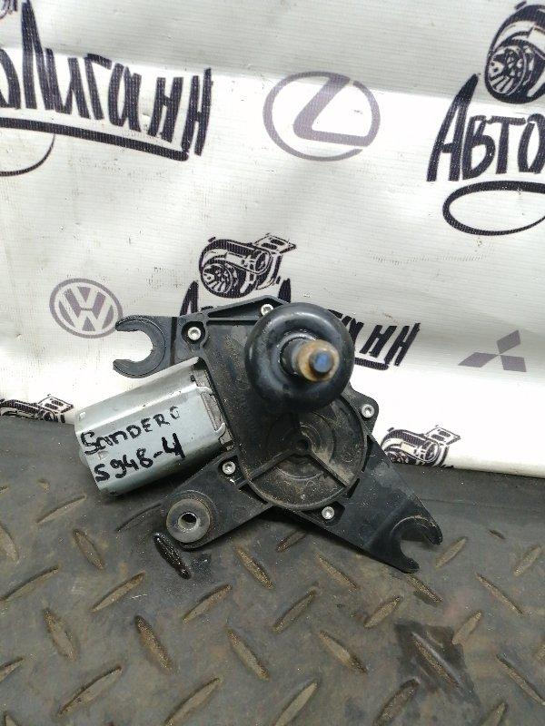 Мотор дворников Renault Sandero K7JA710 2013 задний (б/у)
