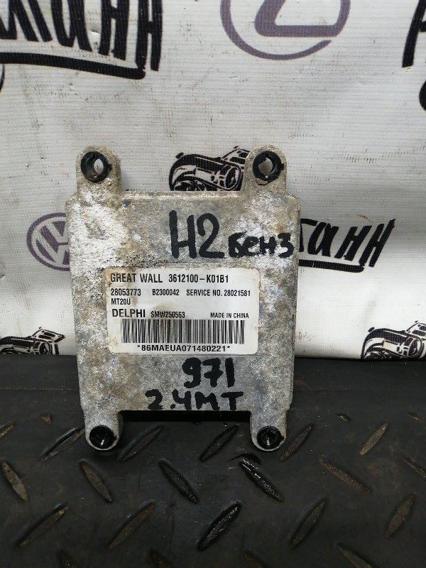 Блок управления двигателем Great Wall Hover H2 4G64S4M 2007 (б/у)