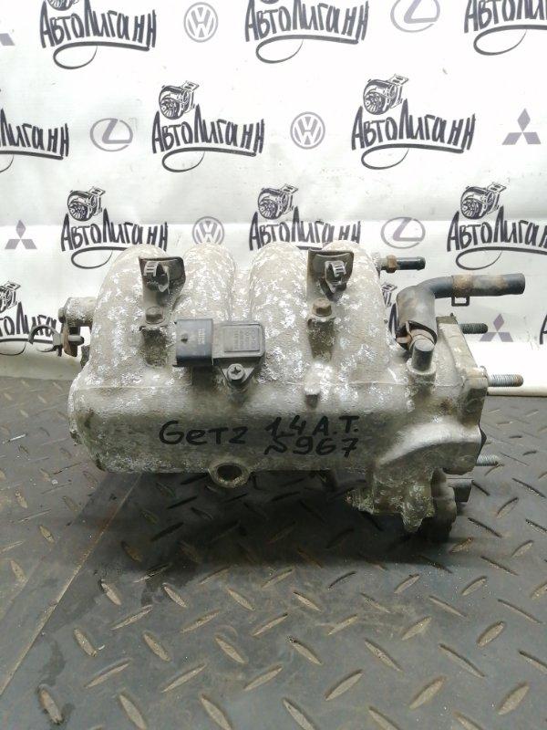 Коллектор впускной Hyundai Getz G4EE 2010 (б/у)