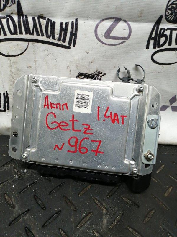 Блок управления двигателем Hyundai Getz G4EE 2010 (б/у)