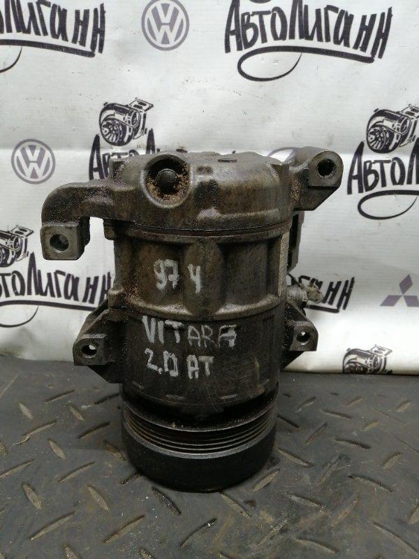 Компрессор кондиционера Suzuki Grand Vitara J20A 2007 (б/у)