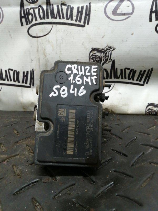 Блок abs Chevrolet Cruze F16D3 2010 (б/у)