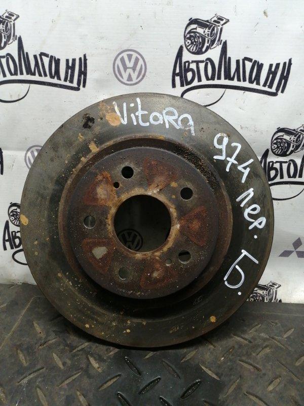 Тормозной диск Suzuki Grand Vitara J20A 2007 передний (б/у)