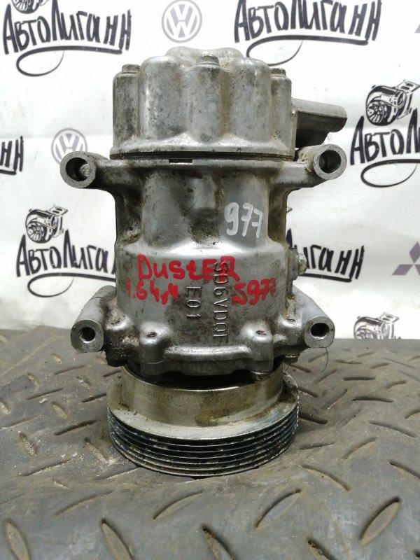 Компрессор кондиционера Renault Duster K4MA606 2014 (б/у)