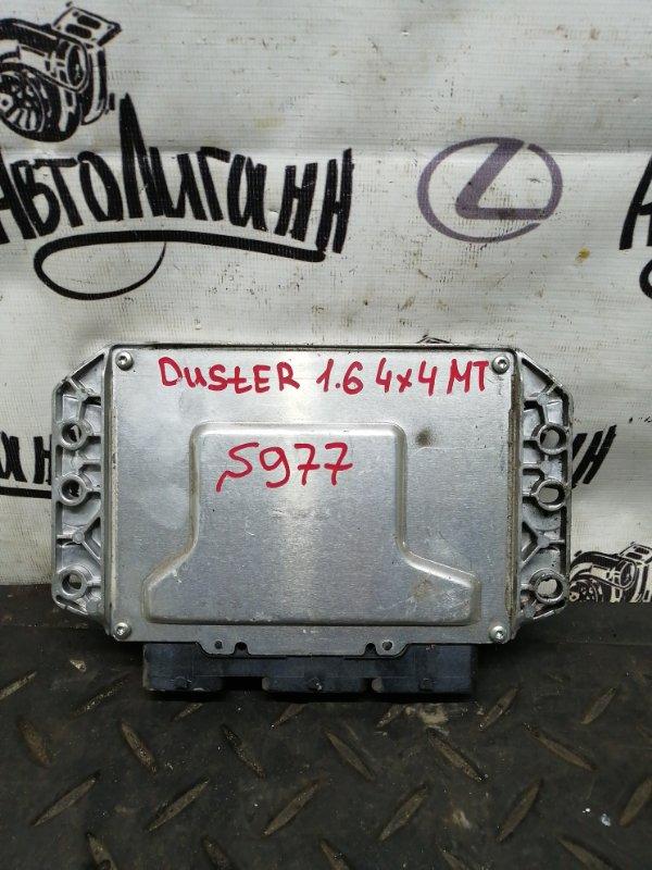 Блок управления двигателем Renault Duster K4MA606 2014 (б/у)