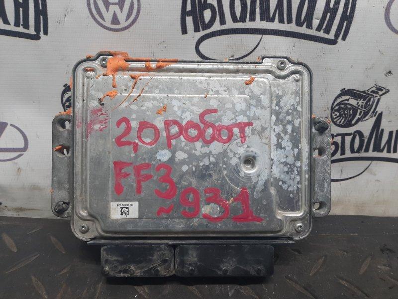 Блок управления двигателем Ford Focus 3 ХЭТЧБЕК XQDA 2012 (б/у)