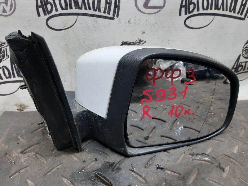 Зеркало Ford Focus 3 XQDA 2012 переднее правое (б/у)