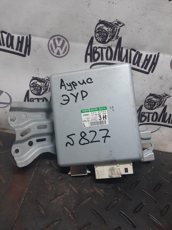 Блок управления эур Toyota Auris 1ZR 2008 (б/у)