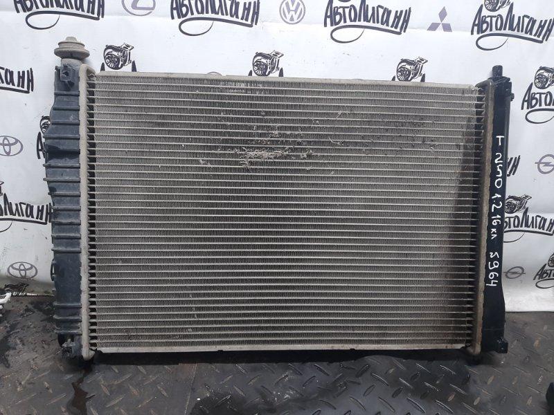 Радиатор охлаждения Chevrolet Aveo T 250 B12D1 2010 (б/у)