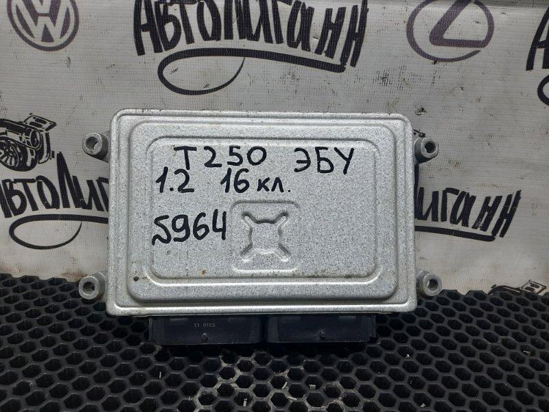 Блок управления двигателем Chevrolet Aveo T 250 B12D1 2010 (б/у)