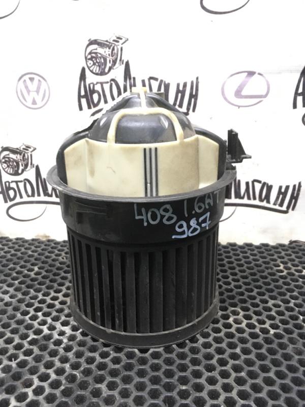 Моторчик печки Peugeot 408 EP6 2012 (б/у)