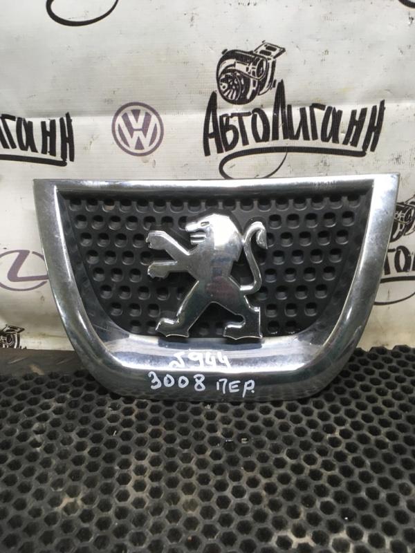 Эмблема Peugeot 3008 EP6CDTMD 2012 (б/у)