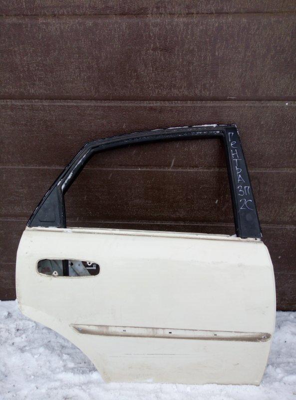 Дверь Daewoo Gentra B15D2 2014 задняя правая (б/у)