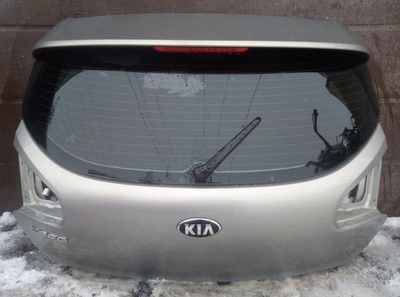 Крышка багажника Kia Ceed 2 G4FG 2017 (б/у)