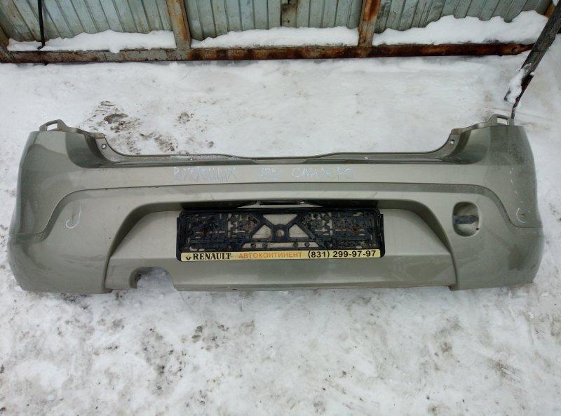 Бампер Renault Sandero K7JA710 2011 задний (б/у)