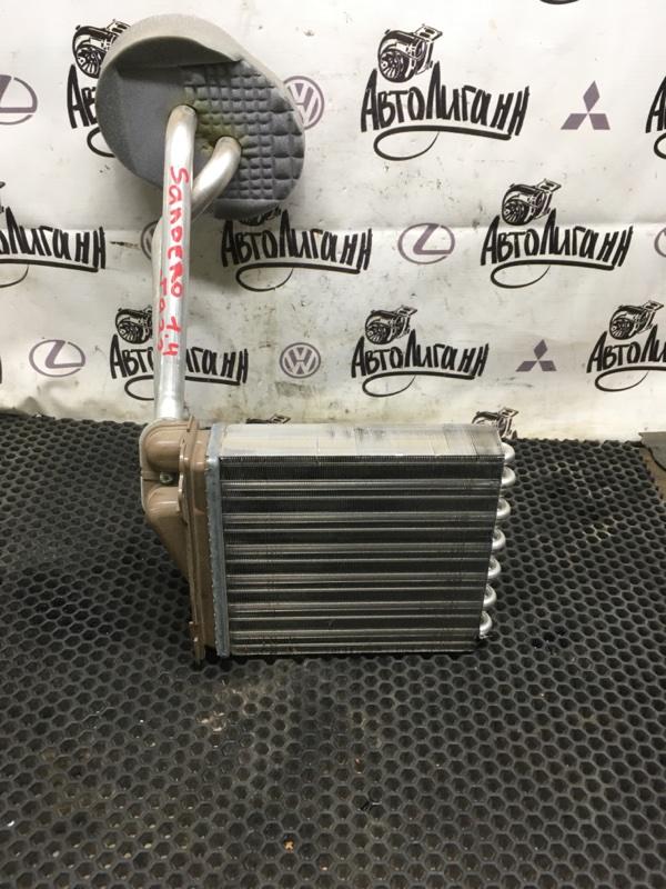 Радиатор печки Renault Sandero K7JA710 2011 (б/у)