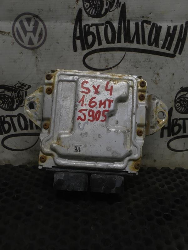 Блок управления двигателем Suzuki Sx 4 ХЭТЧБЕК M16A 2011 (б/у)