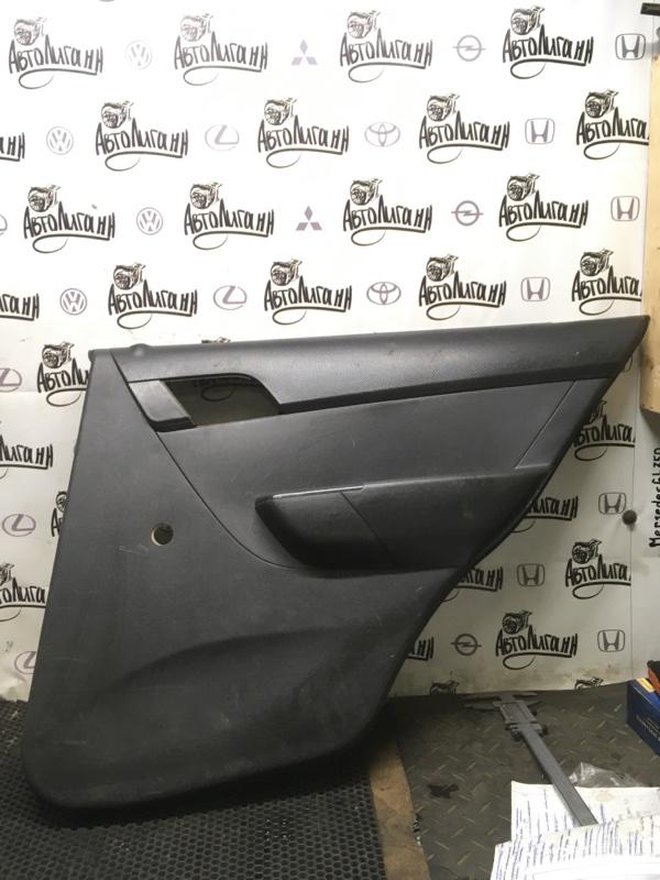 Обшивка двери Chevrolet Aveo T 250 задняя правая (б/у)