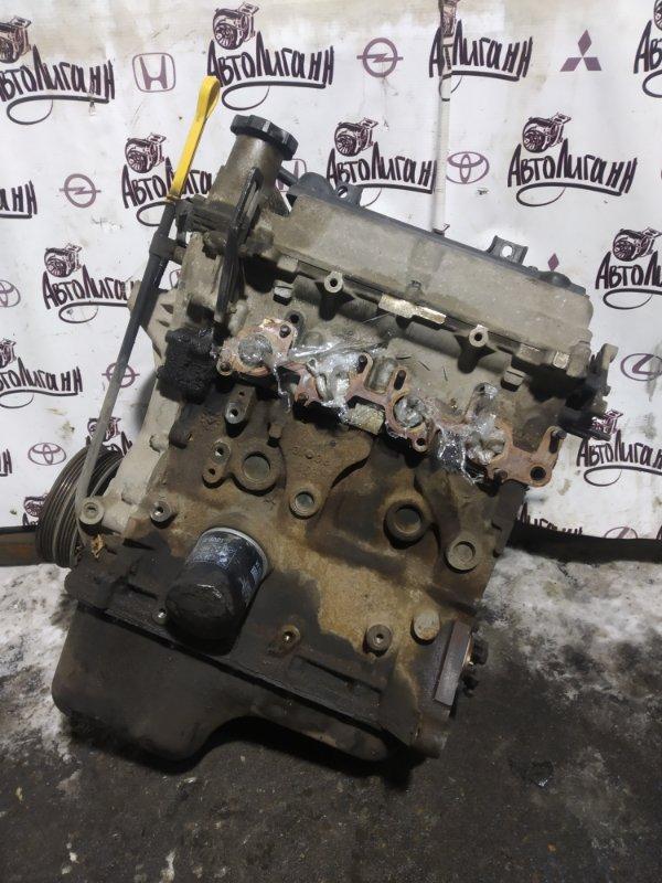 Двигатель Chevrolet Aveo T 250 B12D1 2010 (б/у)