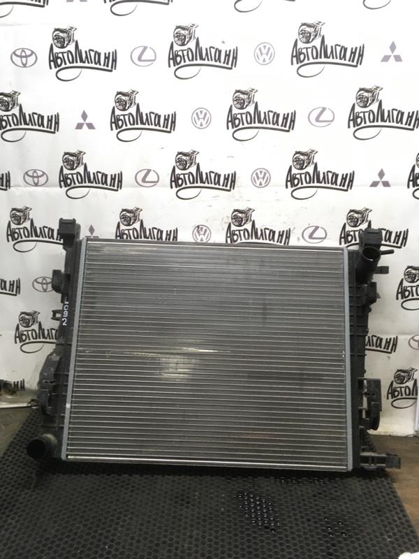 Радиатор охлаждения Renault Logan 2 K4M2845 2018 (б/у)