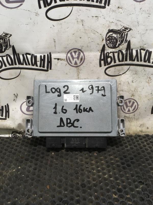 Блок управления двигателем Renault Logan 2 K4M2845 2018 (б/у)
