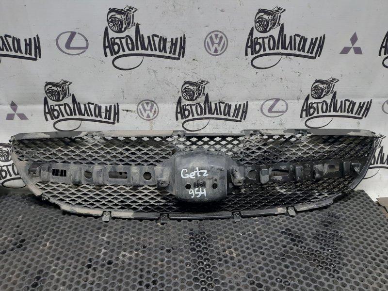 Решетка радиатора Hyundai Getz G4EE 2006 (б/у)