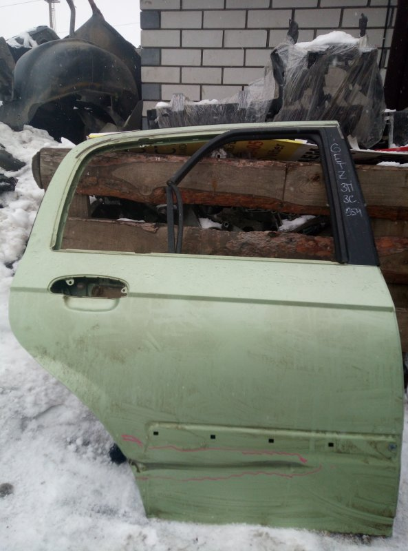 Дверь Hyundai Getz G4EE 2006 задняя правая (б/у)