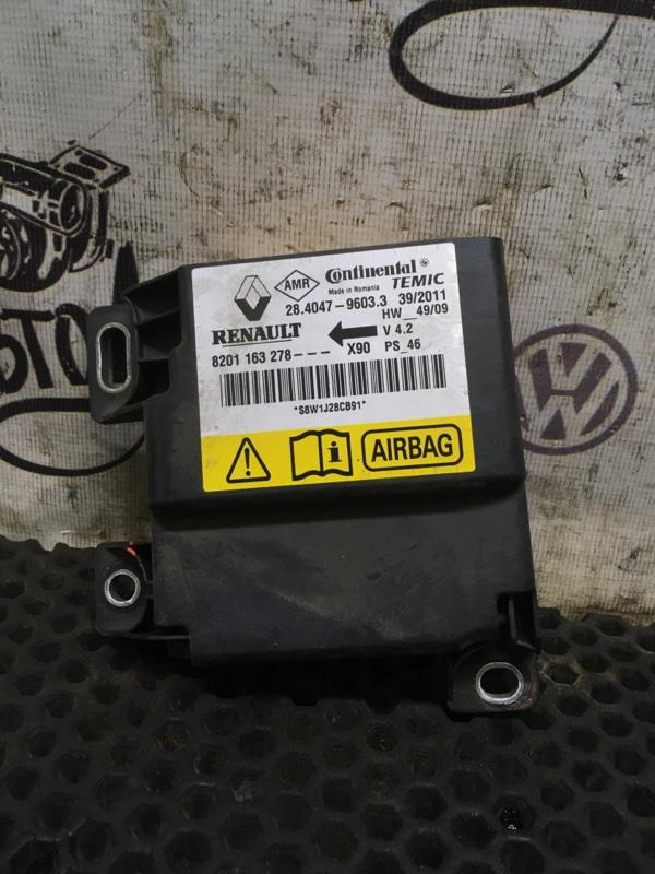 Блок srs Renault Logan K7MF710 2011 (б/у)