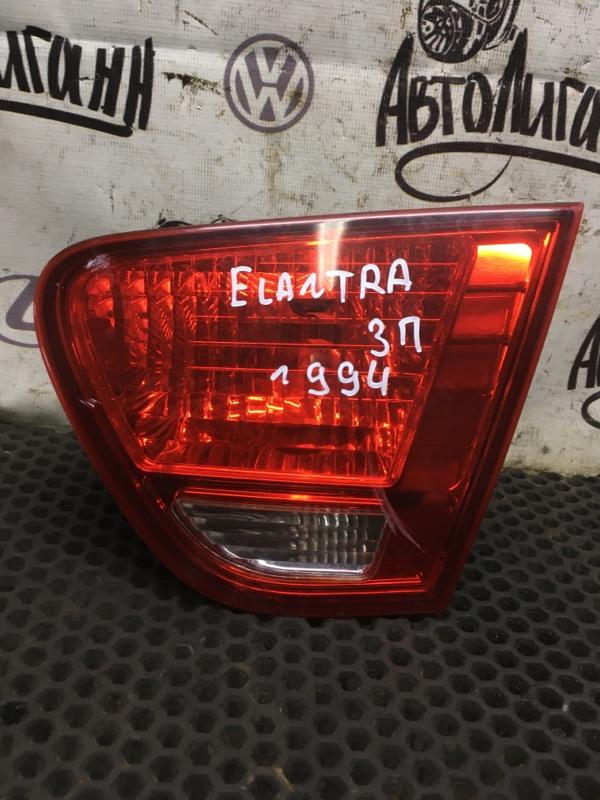 Фонарь Hyundai Elantra G4FC 2007 задний правый (б/у)