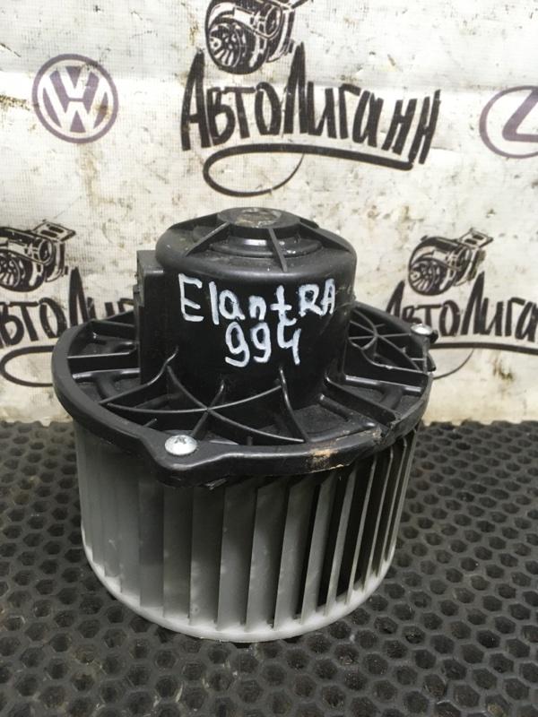Моторчик печки Hyundai Elantra G4FC 2007 (б/у)