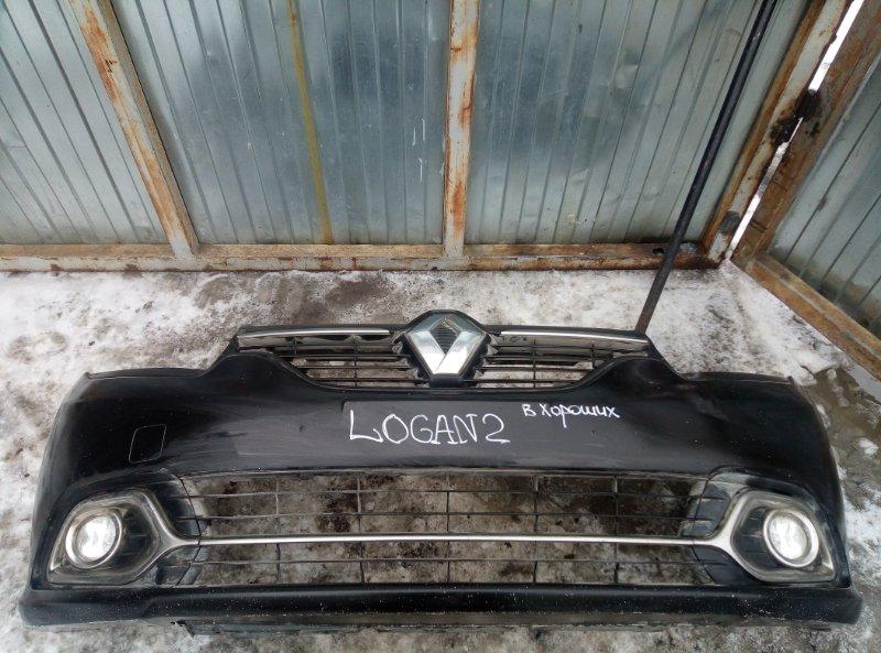 Бампер Renault Logan 2 K4M2842 2015 передний (б/у)