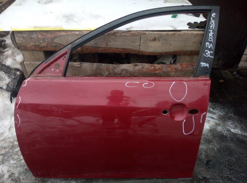 Дверь Hyundai Elantra G4FC 2007 передняя левая (б/у)