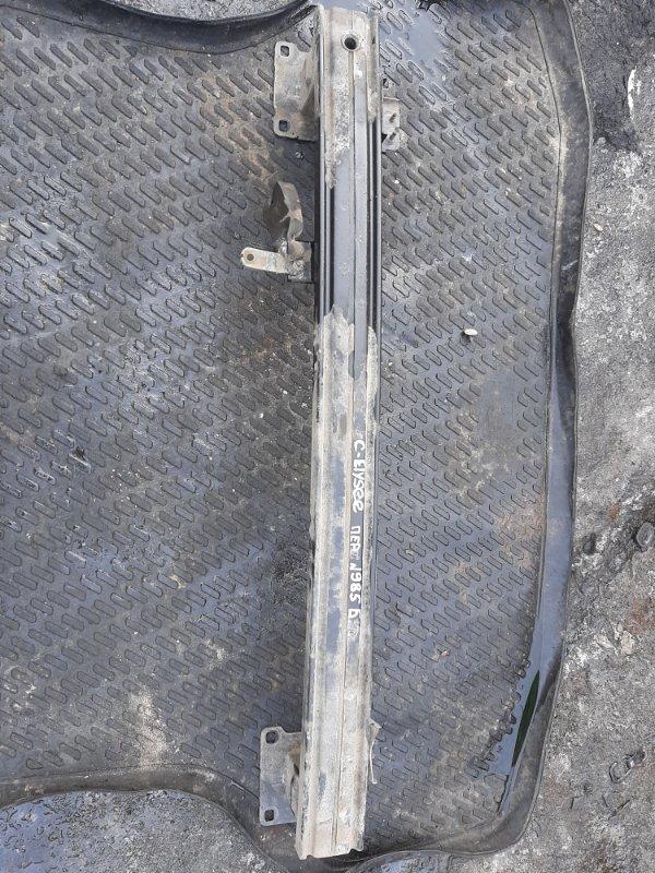 Усилитель бампера Citroen C-Elysee TU5 2013 передний (б/у)