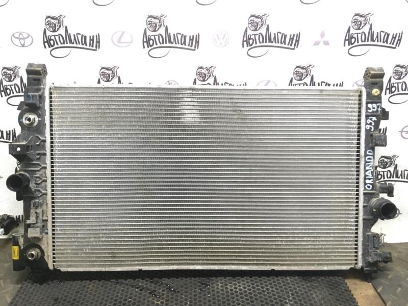 Радиатор охлаждения Chevrolet Orlando F18D4 2012 (б/у)