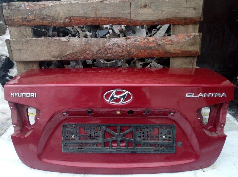 Крышка багажника Hyundai Elantra G4FC 2007 (б/у)