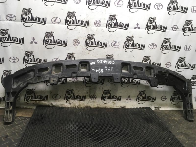 Усилитель бампера Chevrolet Orlando F18D4 2012 передний (б/у)
