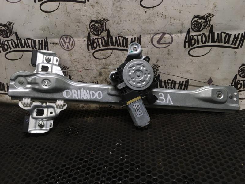 Стеклоподъемник Chevrolet Orlando F18D4 2012 задний левый (б/у)