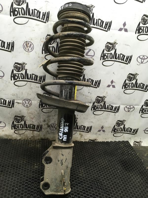 Амортизатор в сборе Chevrolet Orlando F18D4 2012 передний правый (б/у)