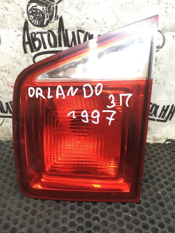 Фонарь Chevrolet Orlando F18D4 2012 задний правый (б/у)