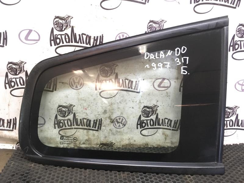 Форточка в крыло Chevrolet Orlando F18D4 2012 задняя правая (б/у)