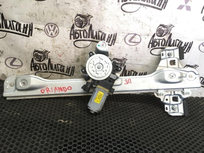 Стеклоподъемник Chevrolet Orlando F18D4 2012 задний правый (б/у)